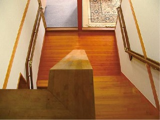 階段 木 手すり