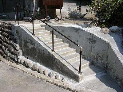 支柱 階段 手すり