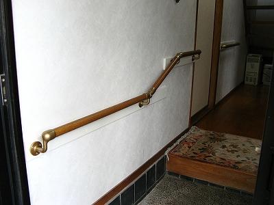 手すり 玄関框