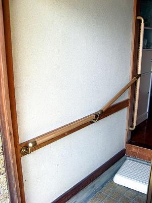 玄関手摺り