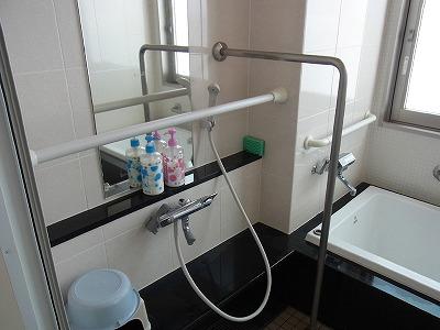 浴室 補助手すり つっぱり