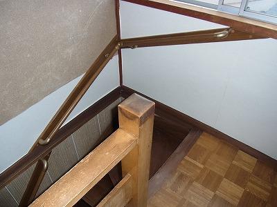 階段手すり 木製
