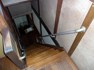 階段 手すり パイプ