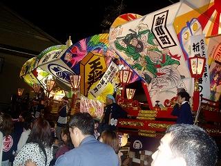 岩瀬曳山祭り2011